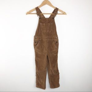 🌿 Genuine Kids Brown 5T Corduroy Overalls